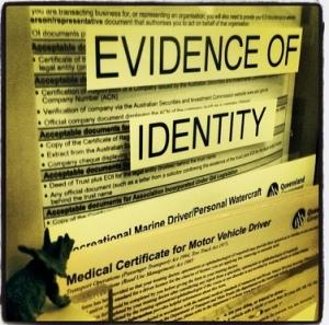 Trig - evidence of identity